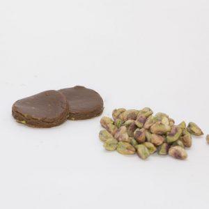 Masa para pastas de pistacho y chocolate negro